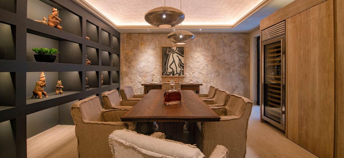casa tesoro dining room