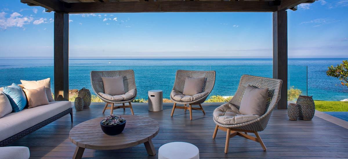 casa tesoro outdoor lounge