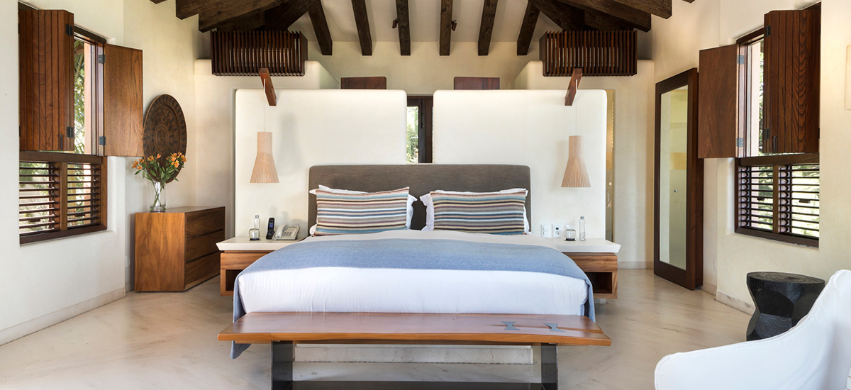 casa tres soles bedroom