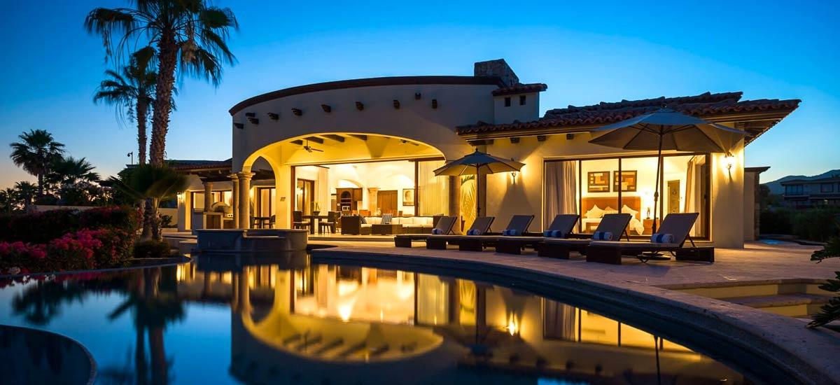 casa tropico at night