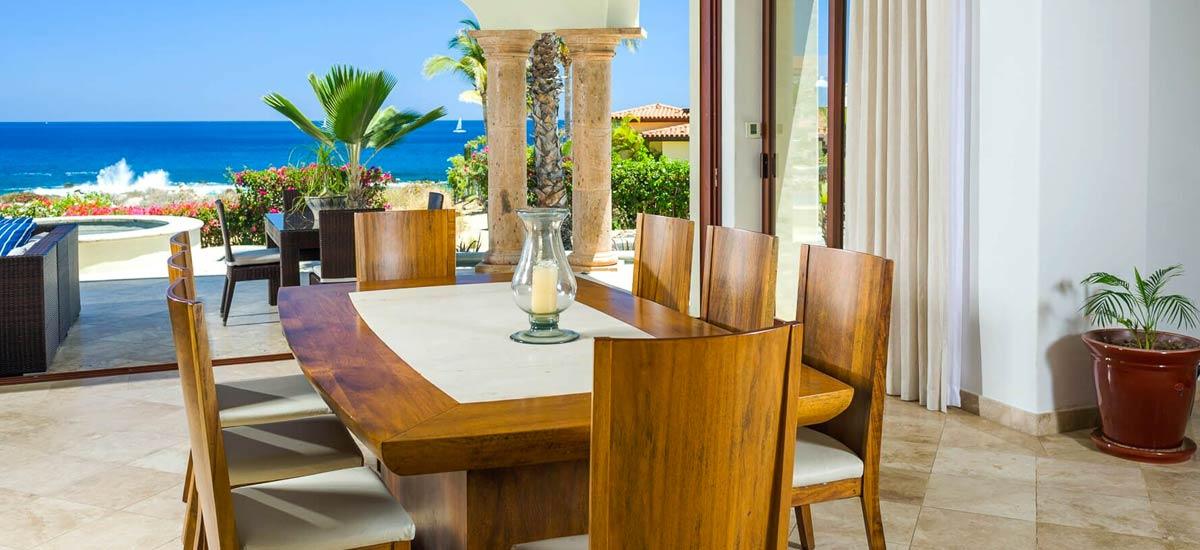 casa tropico dining room