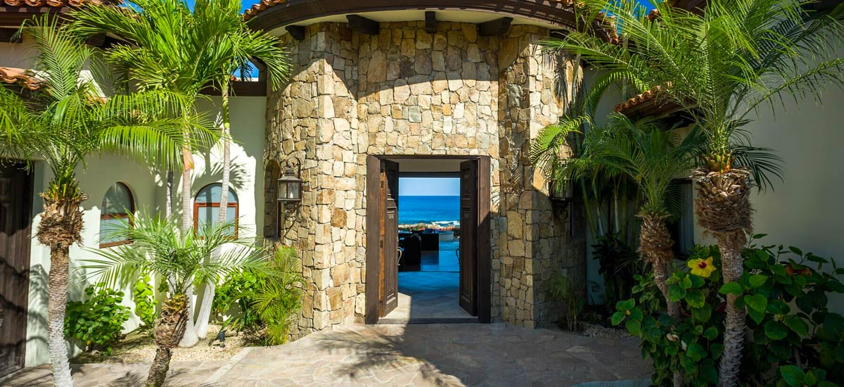 casa tropico front entrance