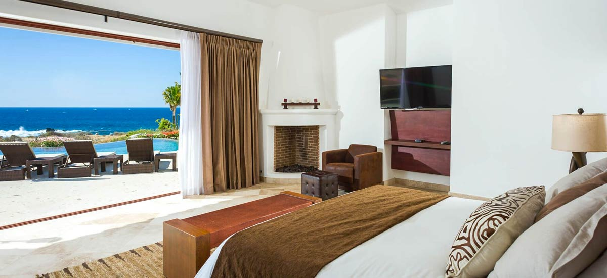 casa tropico ocean view bedroom