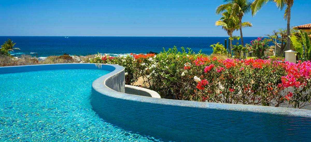 casa tropico pool view