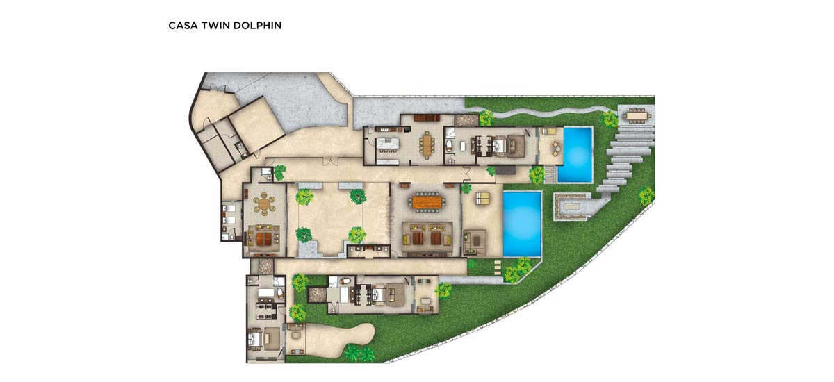 casa twin dolphin floor plan