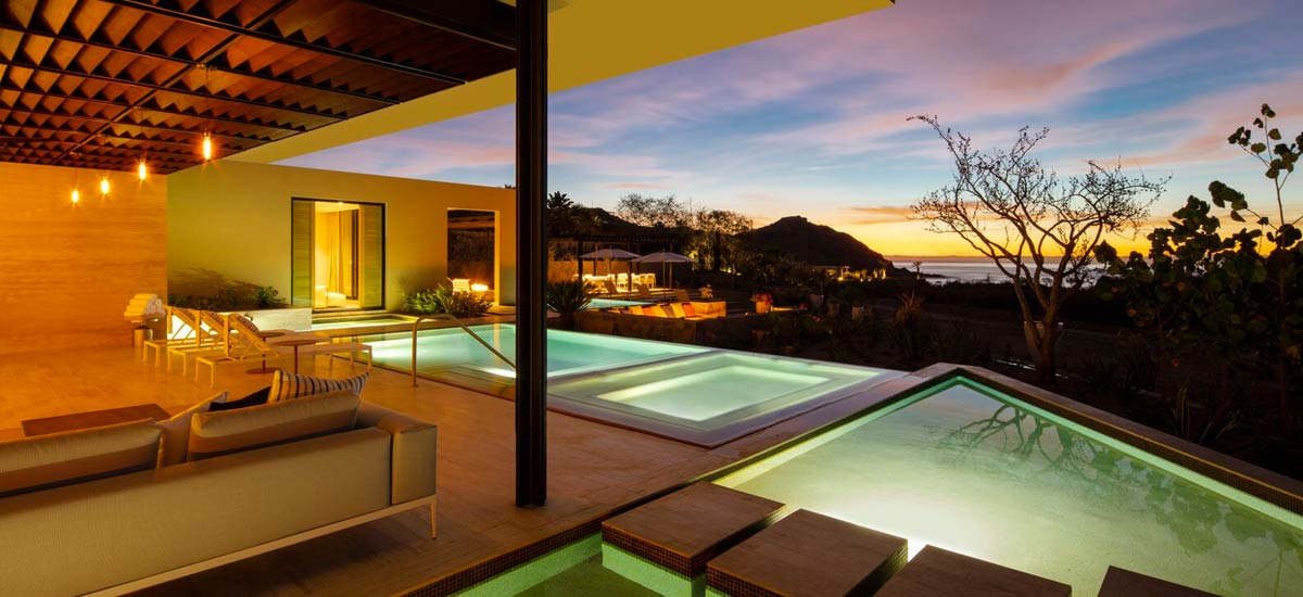 casa twin dolphin sunset