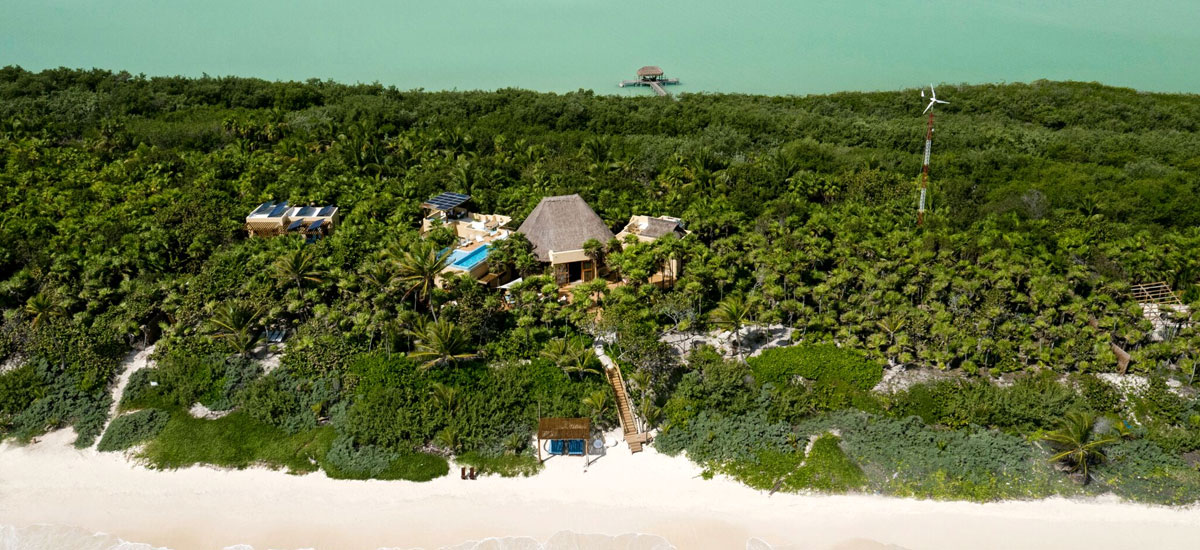 casa yakunah tulum aerial view 4