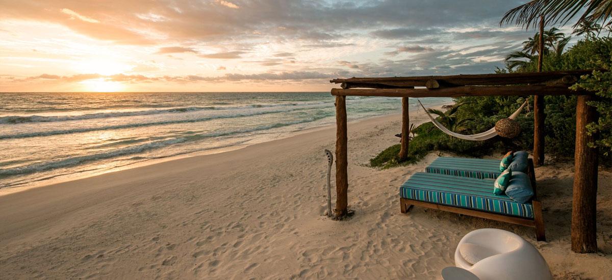 casa yakunah tulum beach lounge
