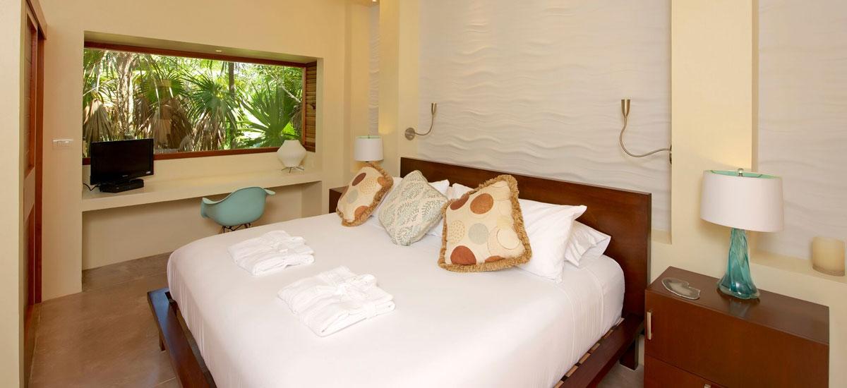 casa yakunah tulum bedroom