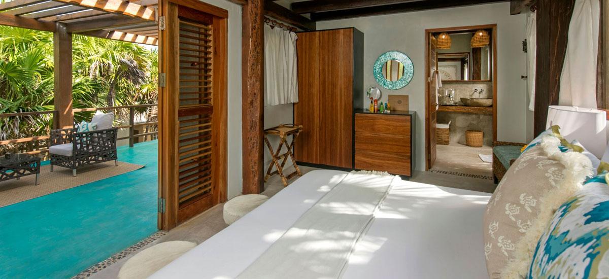 casa yakunah tulum bedroom 2