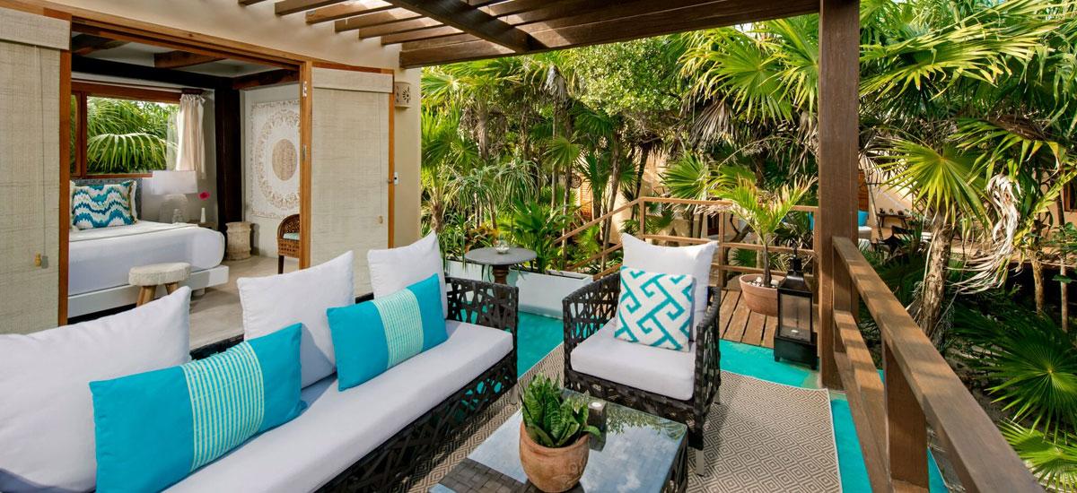 casa yakunah tulum terrace