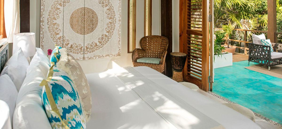 casa yakunah tulum guest bedroom