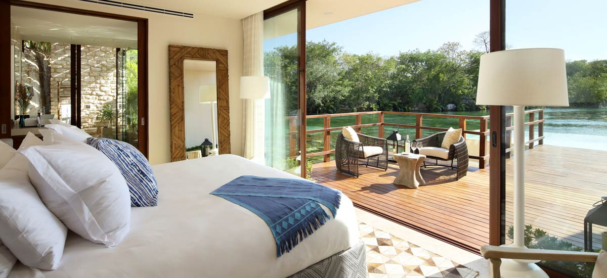 rosewood villa bedroom