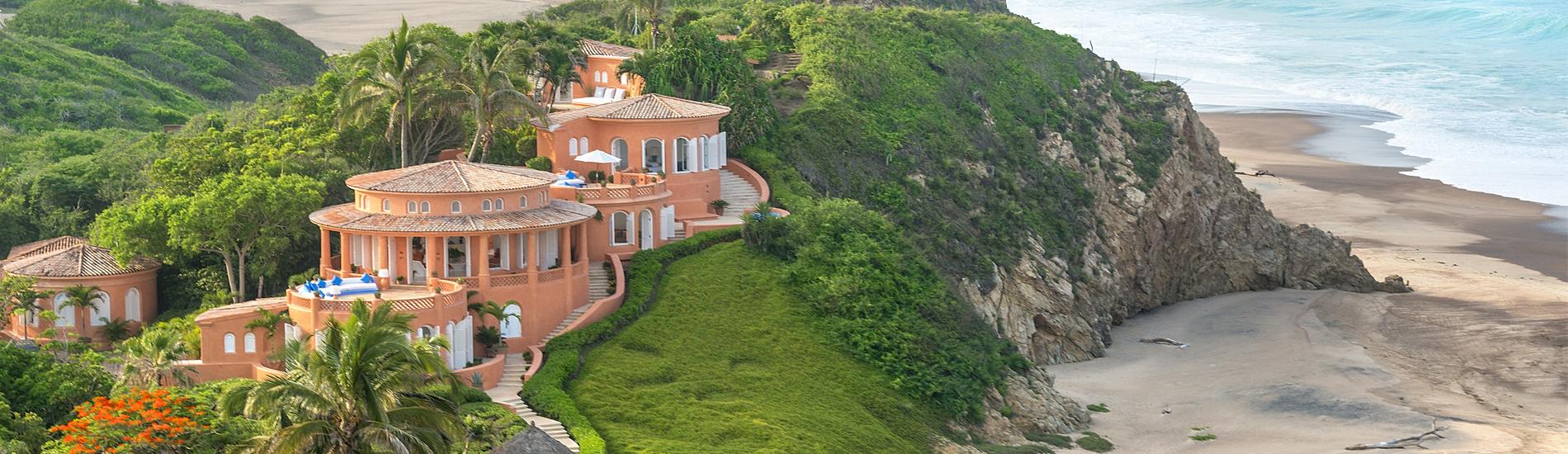 casa la playa cuixmala careyes journey mexico luxury villas. Black Bedroom Furniture Sets. Home Design Ideas