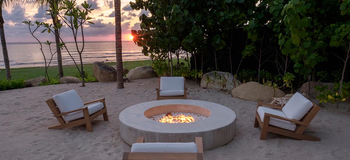 estate amanecer fire