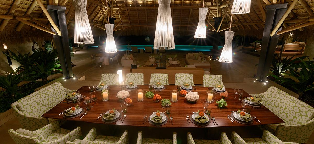 estate amanecer table