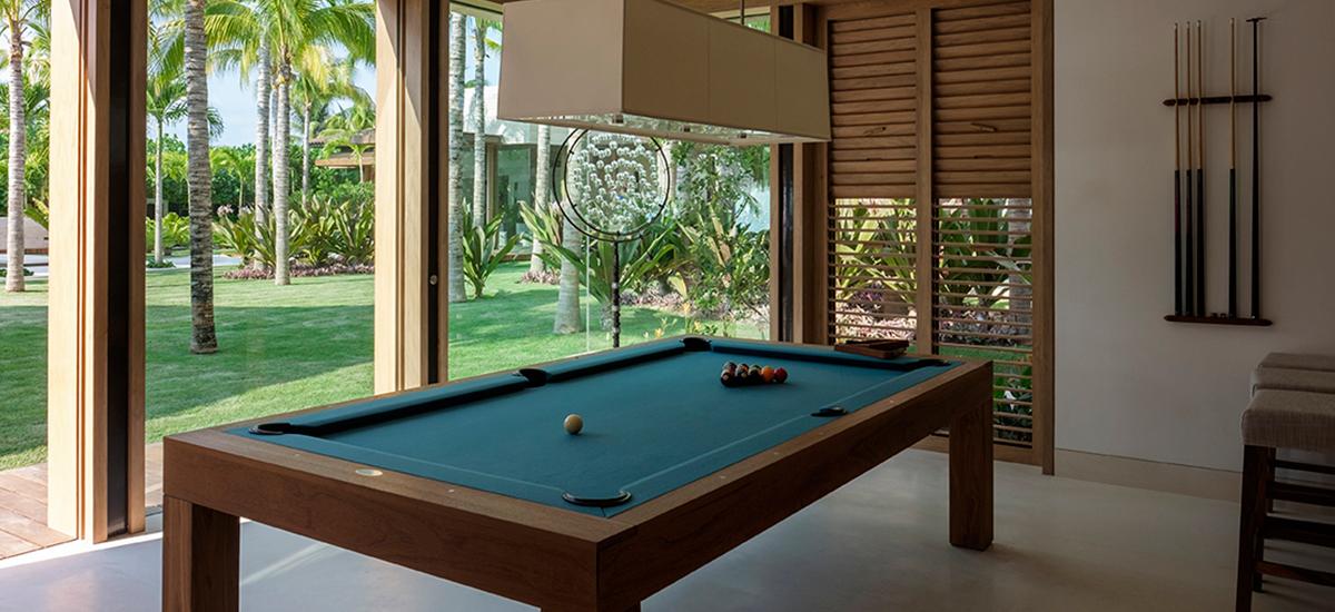 estate amanecer pool game