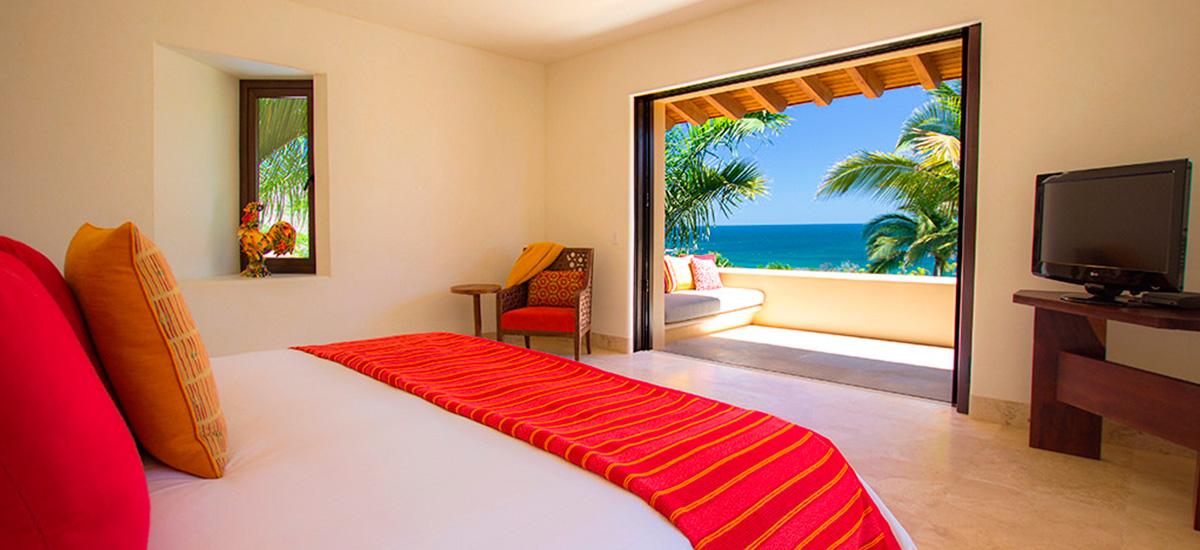 state cruz del sur bedroom ocean view