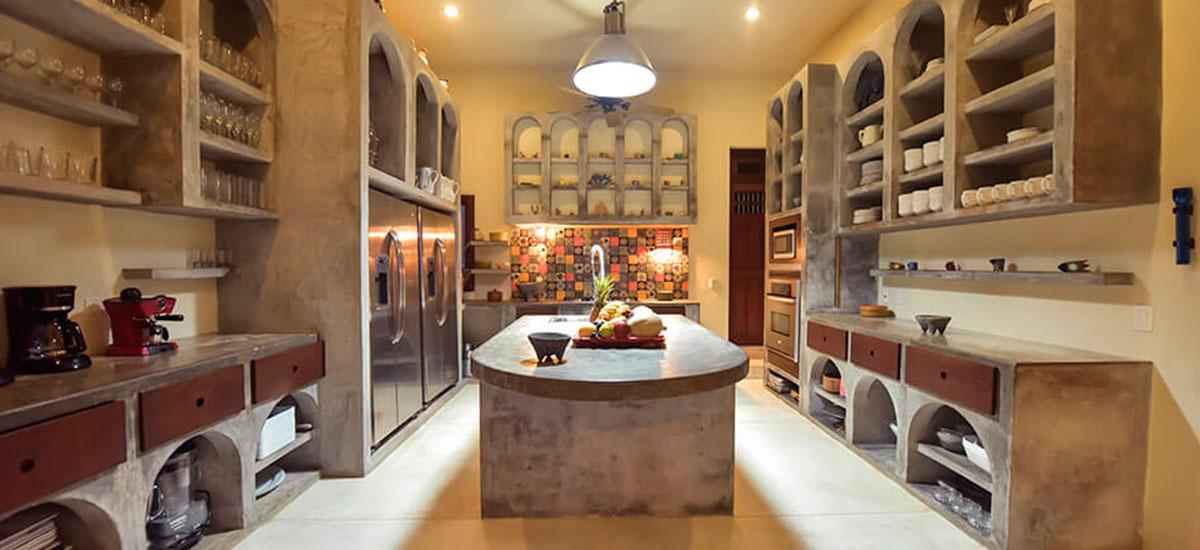 hacienda del mar kitchen