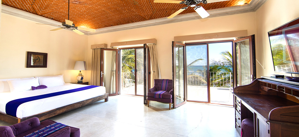 hacienda del mar bedroom