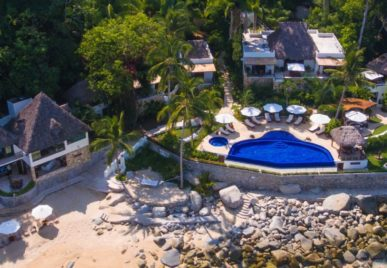 One of our houses in the jungle, La Troza in Puerto Vallarta