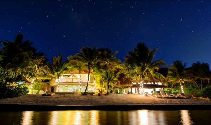 Puerto Estate at night