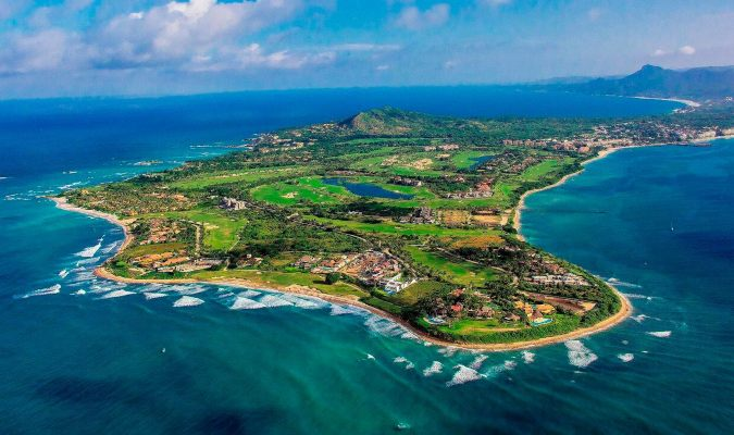 A bird's-eye view of Punta Mita