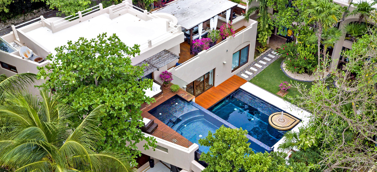 villa quinta clara riviera maya