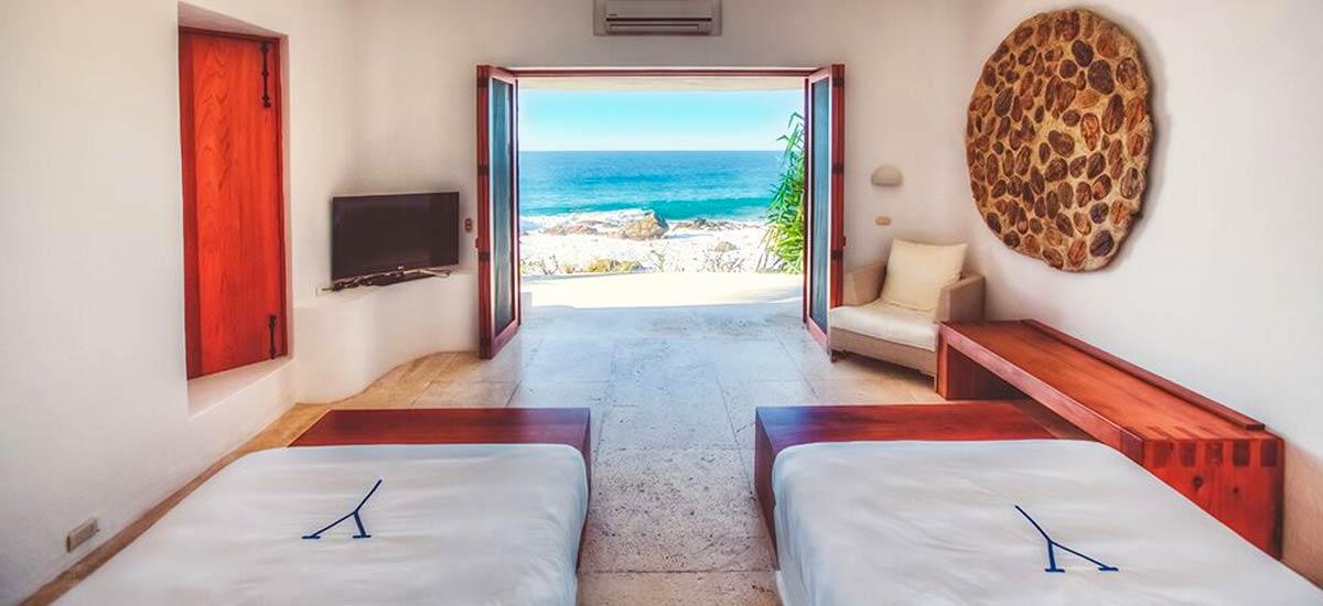 rancho huracan double bedroom