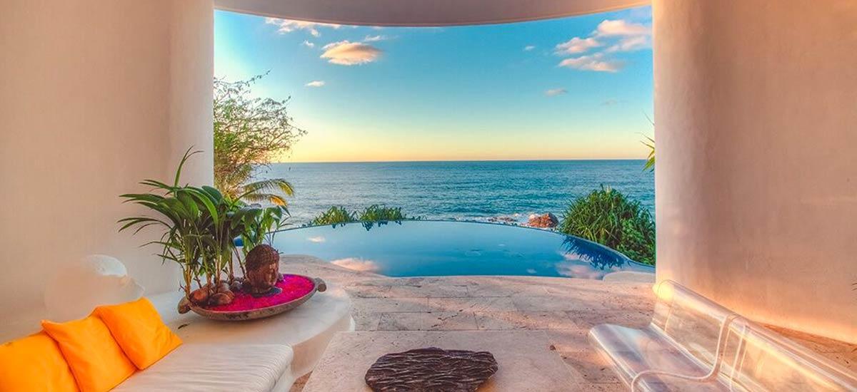 rancho huracan infinity pool ocean view