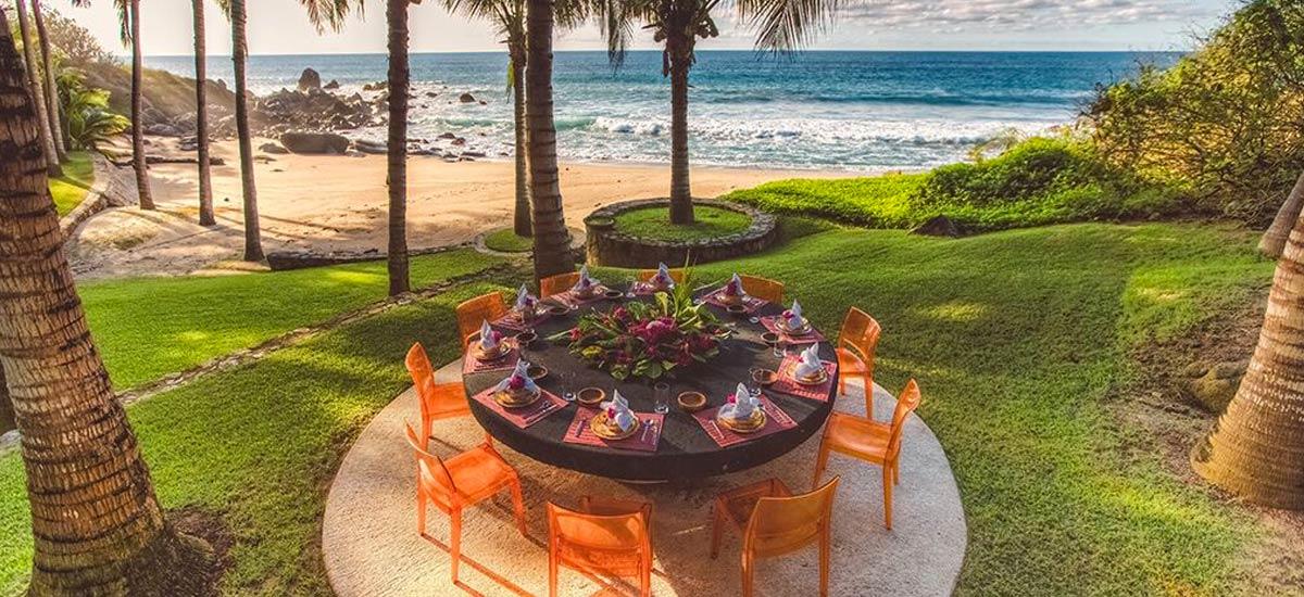 rancho huracan private beach 2