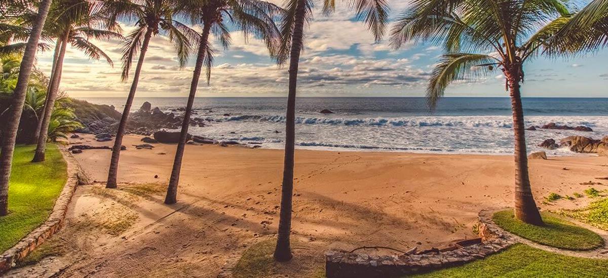 rancho huracan private beach