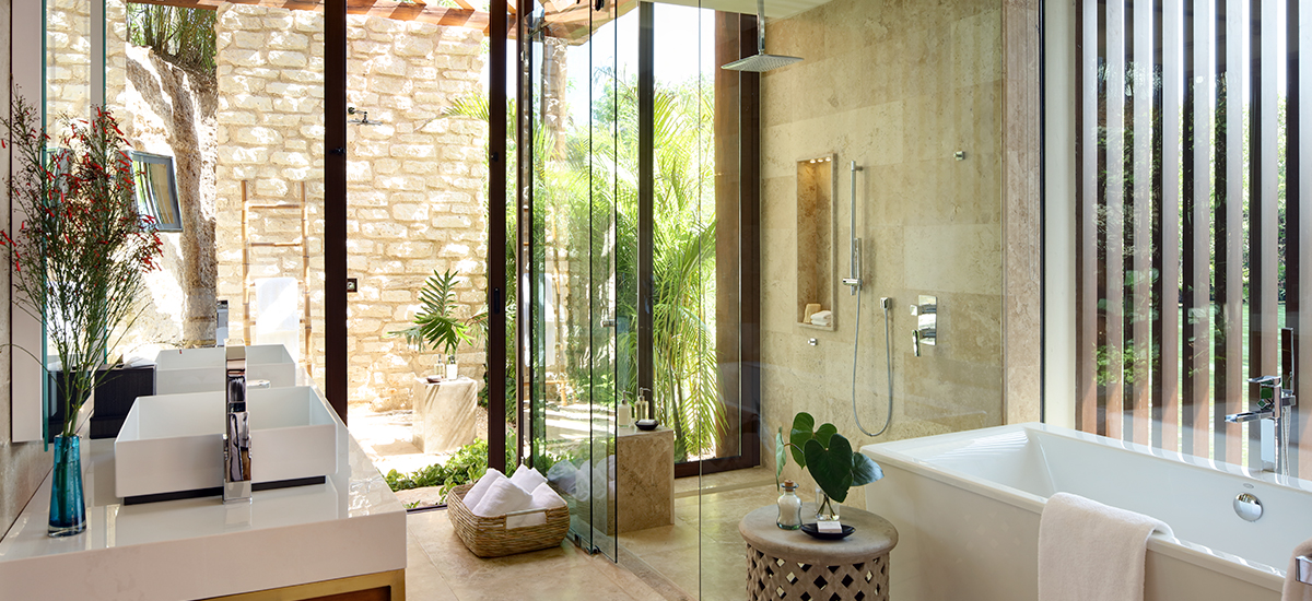 rosewood villa bathroom