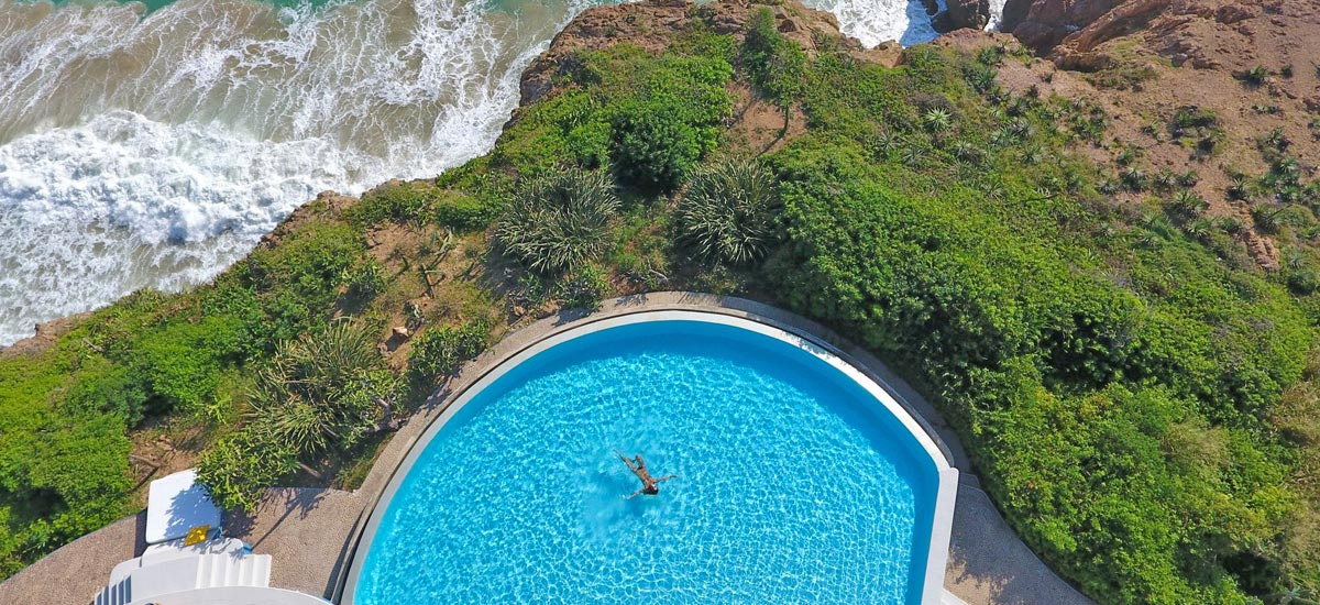 tigre del mar infinity pool