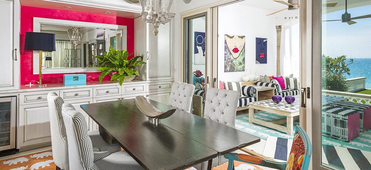 villa 321 dining room