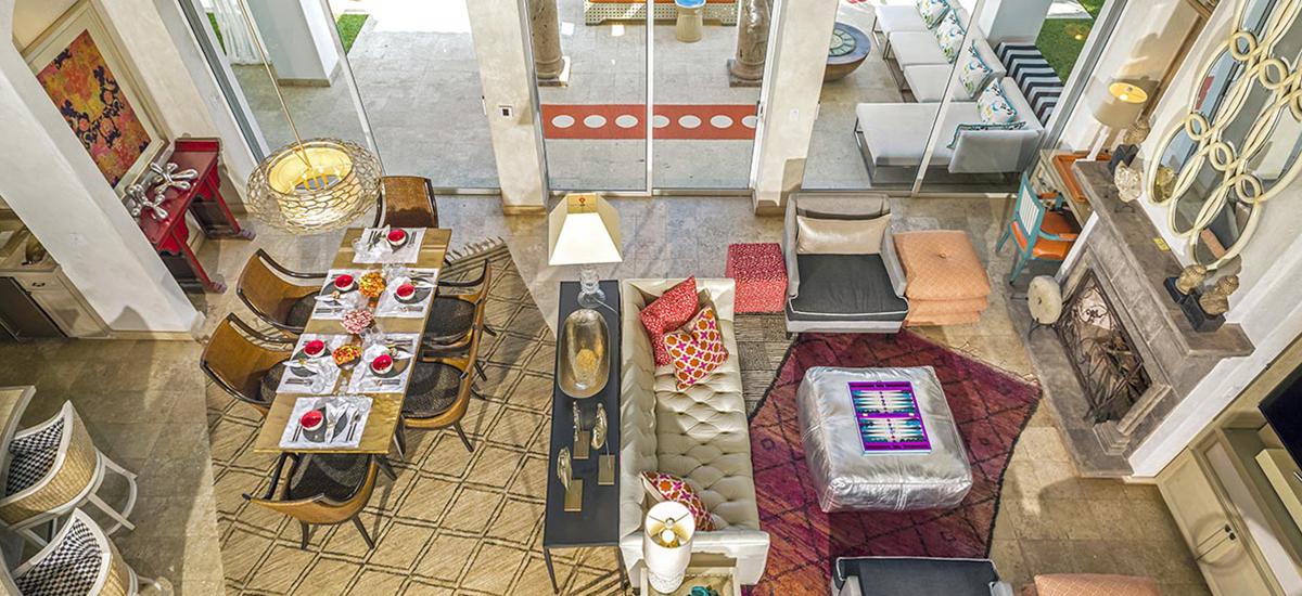 villa 321 living room