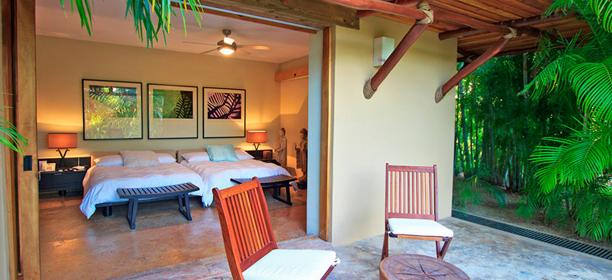 villa aire punta mita twin bed