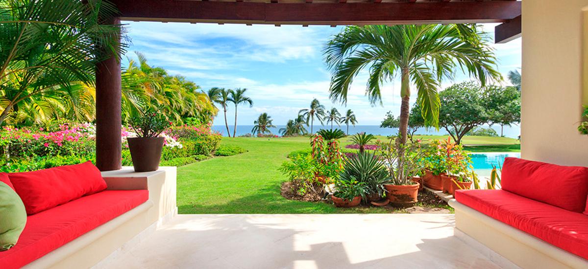villa alma garden