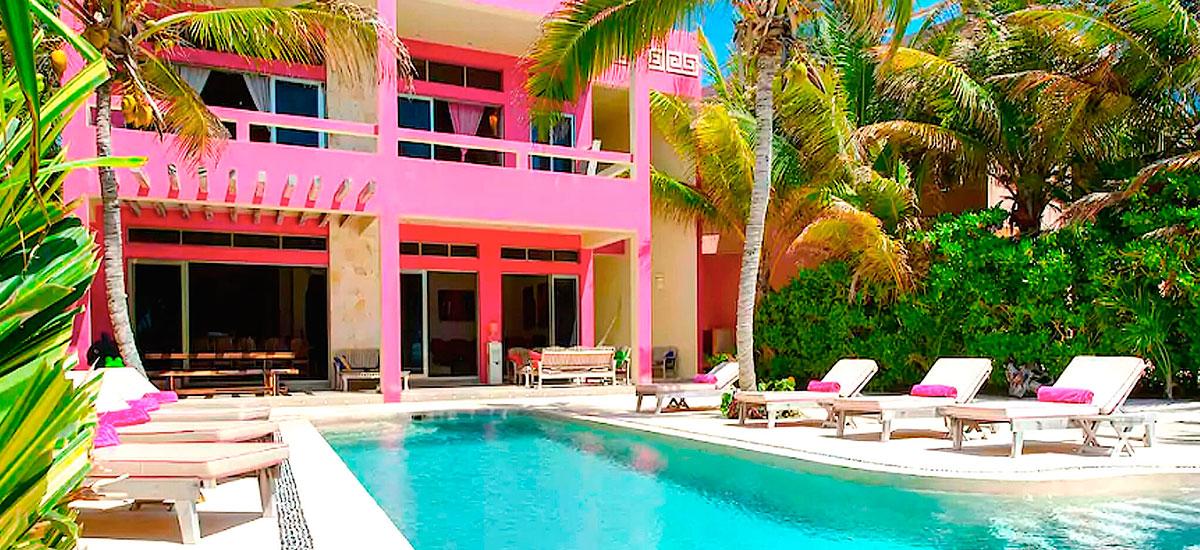 vila alma rosa villa pool