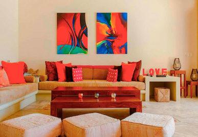 Villa Alma Rosa Living