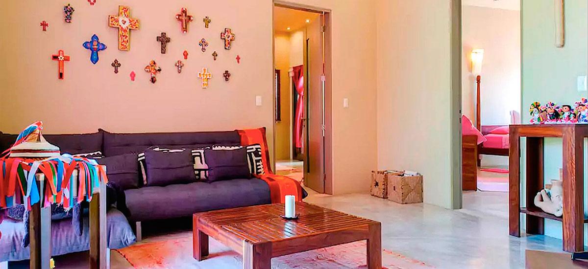vila alma rosa sofa