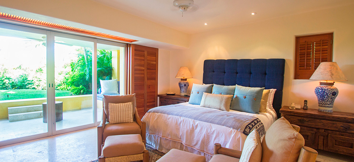 villa austral kingsize bedroom