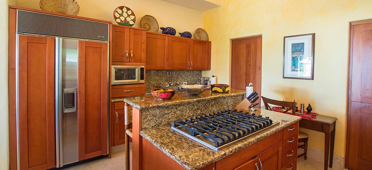 villa austral kitchen