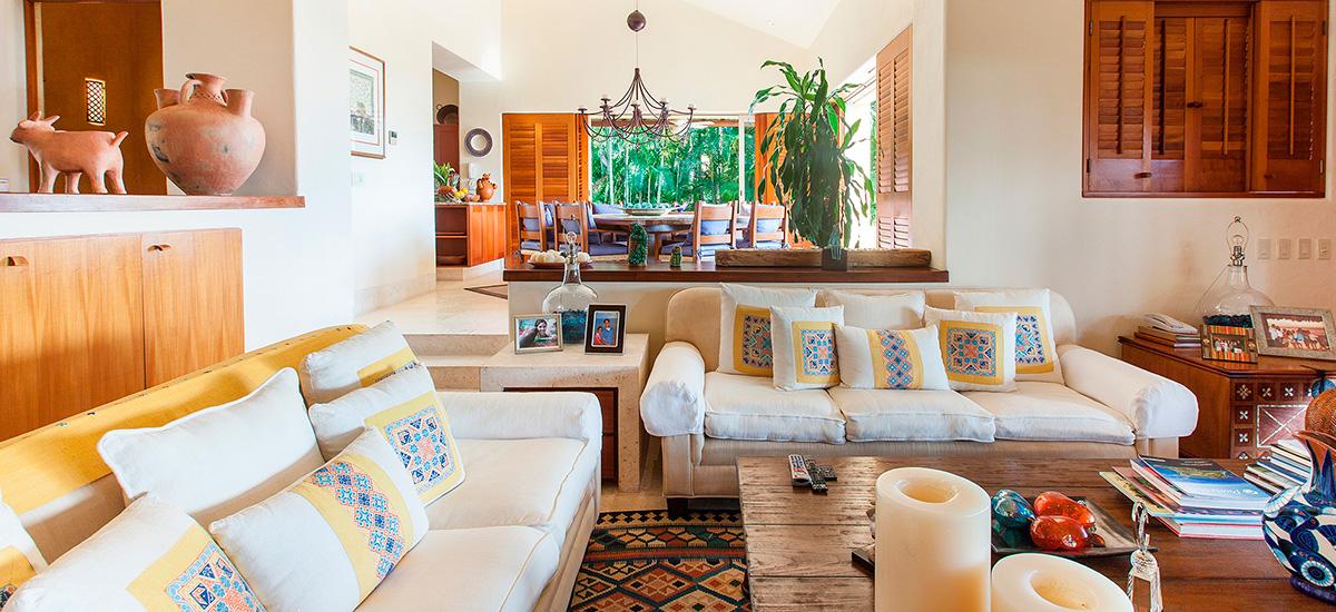 villa austral living room 2