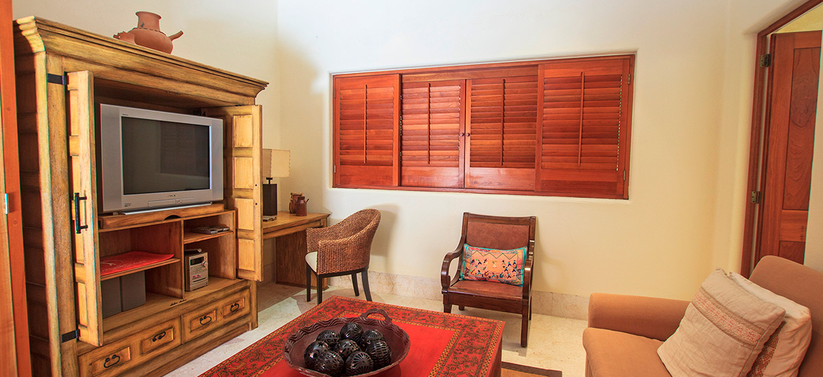 villa austral living room