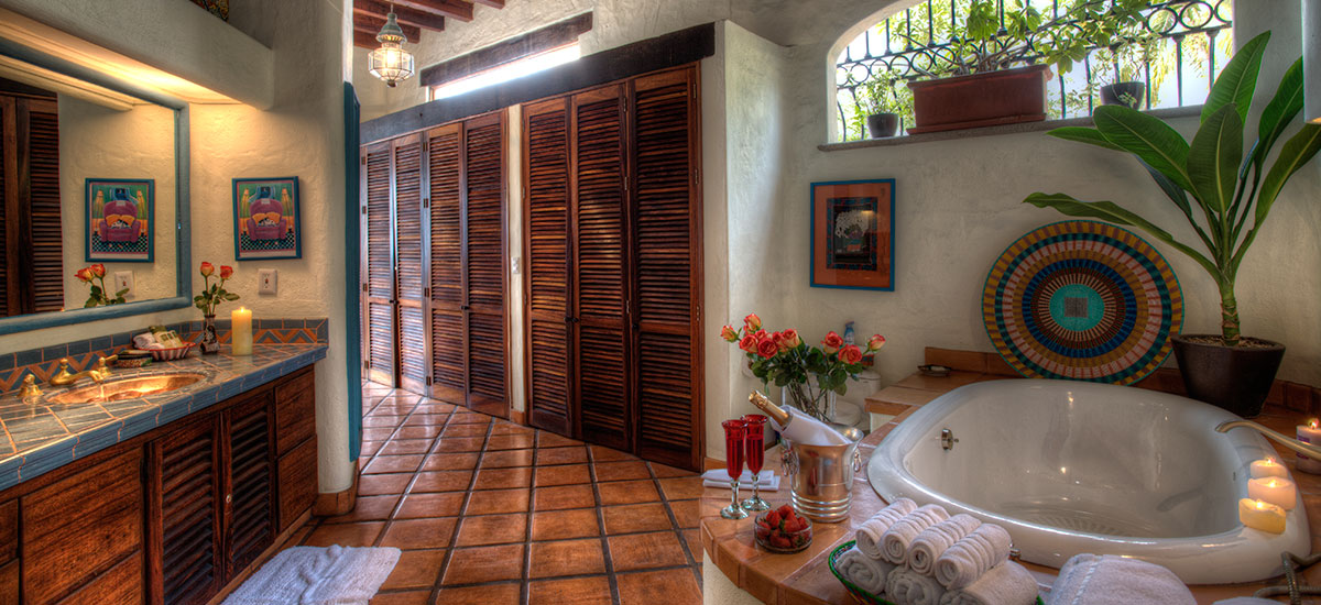 villa azul celeste bathroom