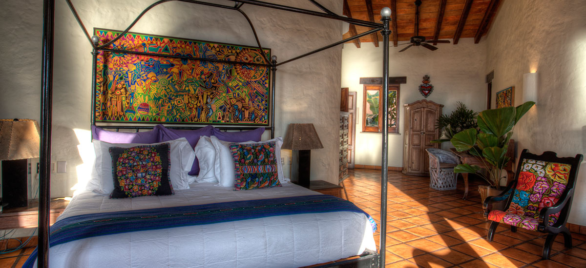 villa azul celeste bedroom 2