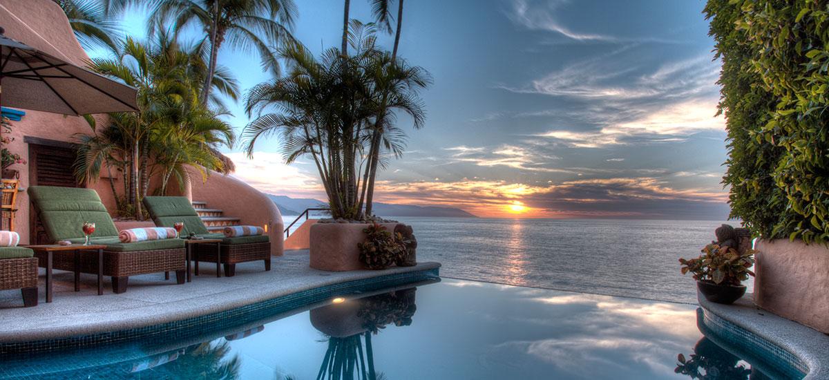 villa azul celeste infinity pool