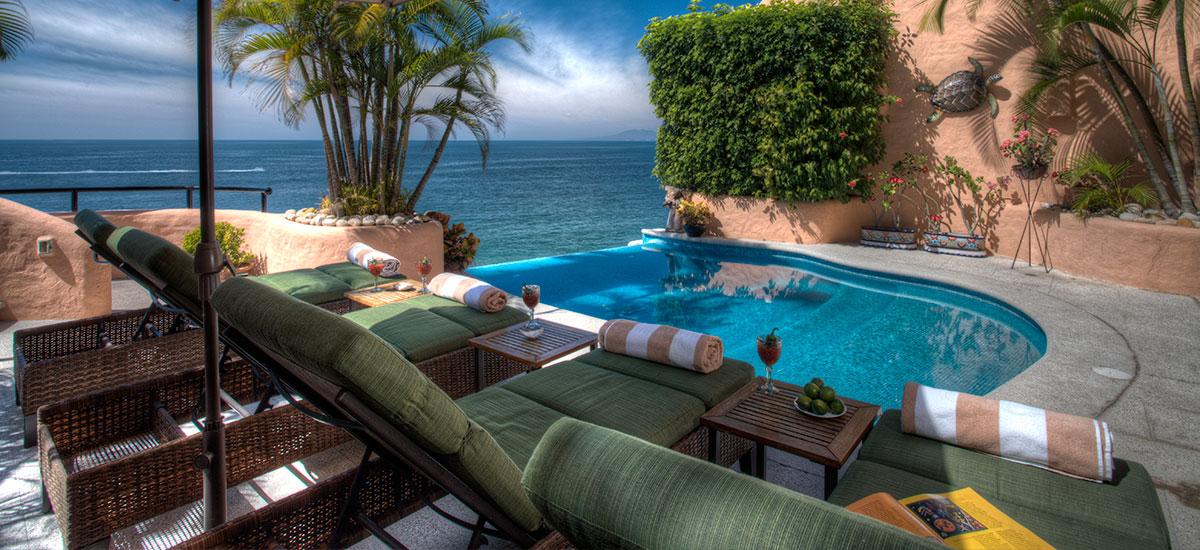 villa azul celeste pool 3