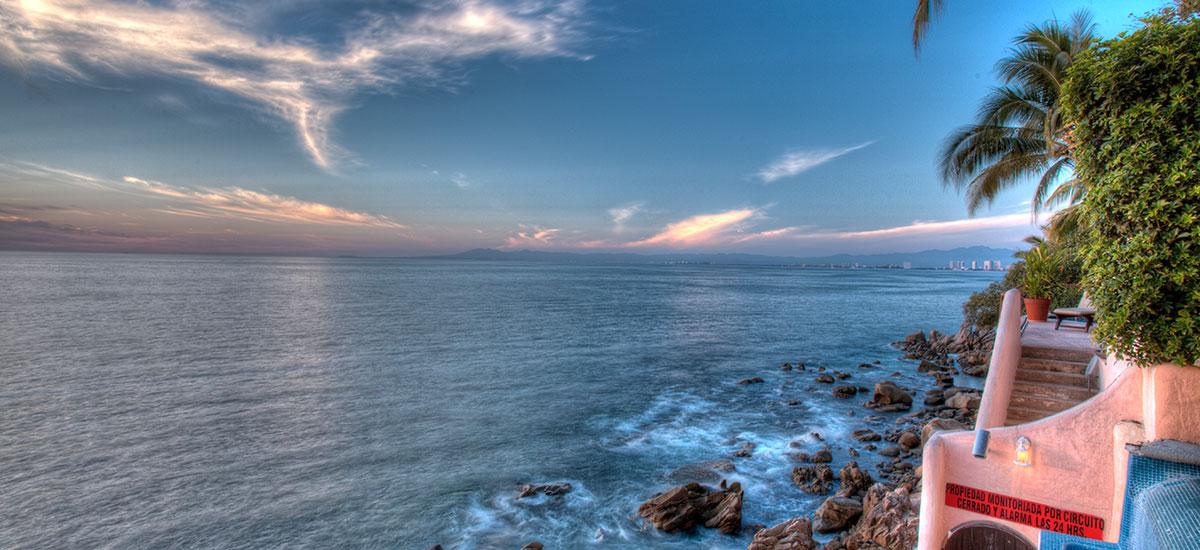 villa azul celeste puerto vallarta view